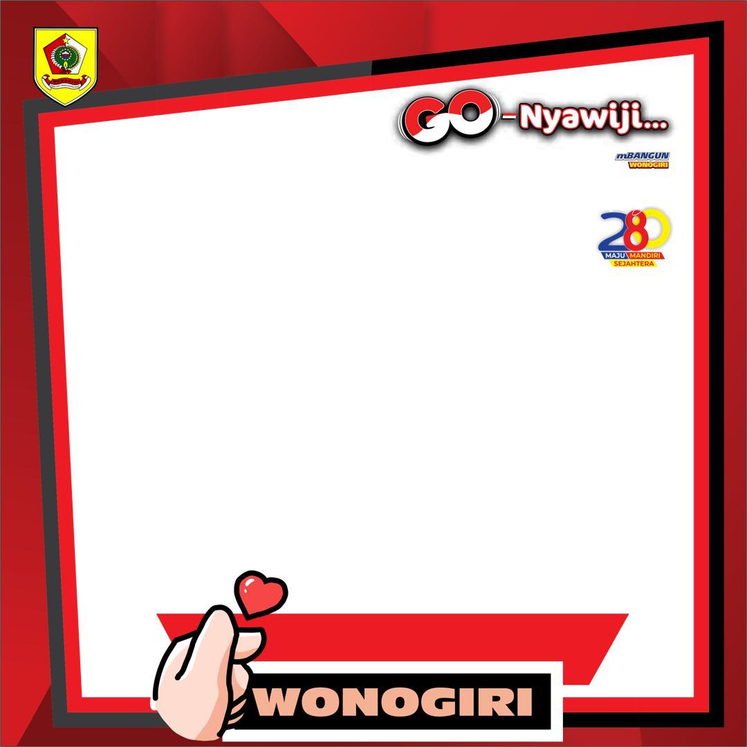Twibbon HUT Kabupaten Wonogiri 2021 Twibbonize