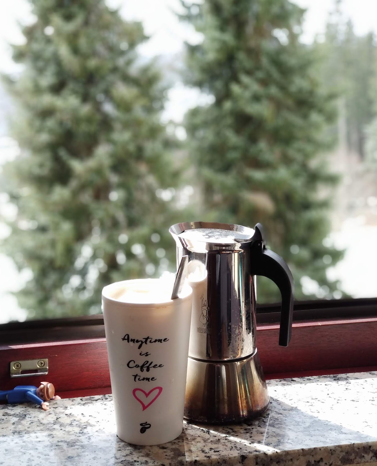 Erstmal einen Kaffee kochen, der Rest ergibt sich dann von selbst