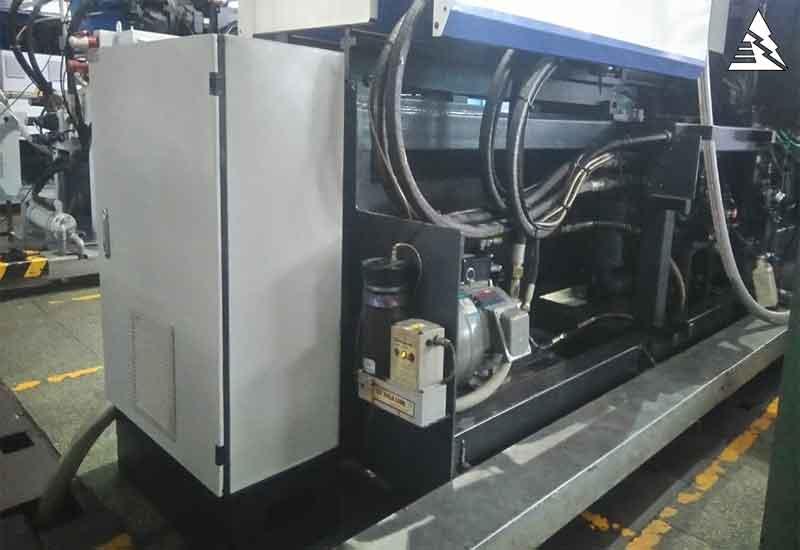 Ứng dụng Bơm Servo cho máy ép nhựa