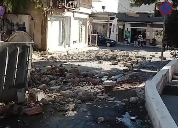Σεισμός στην Κρήτη: Ένας νεκρός από τη δόνηση των 5,8 Ρίχτερ - Εννέα οι τραυματίες