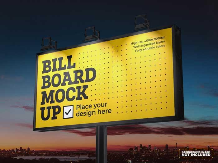 Billboard PSD Mockup