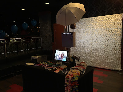 Sweet 16 Photo booth set-up