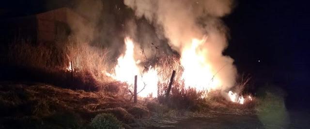 Bombeiros controlam mais um incêndio em Roncador