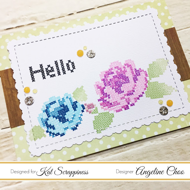 ScrappyScrappy: Layering Stitched Roses with Kat Scrappiness #scrappyscrappy #katscrappiness #waffleflowercrafts #stitchedroses #layeringstamp #stamp #stamping #card #cardmaking #altenew #altenewink #flowers #floral #craft #crafting #katscrappinessdie #katscrappinesssequin #sequin #nuvojeweldrop #tonicstudios #crossstitch #misti #mysweetpetunia