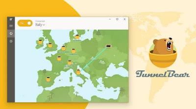مراجعة, برنامج, TunnelBear, أفضل, VPN, يدعم, جميع, أنظمة, التشغيل
