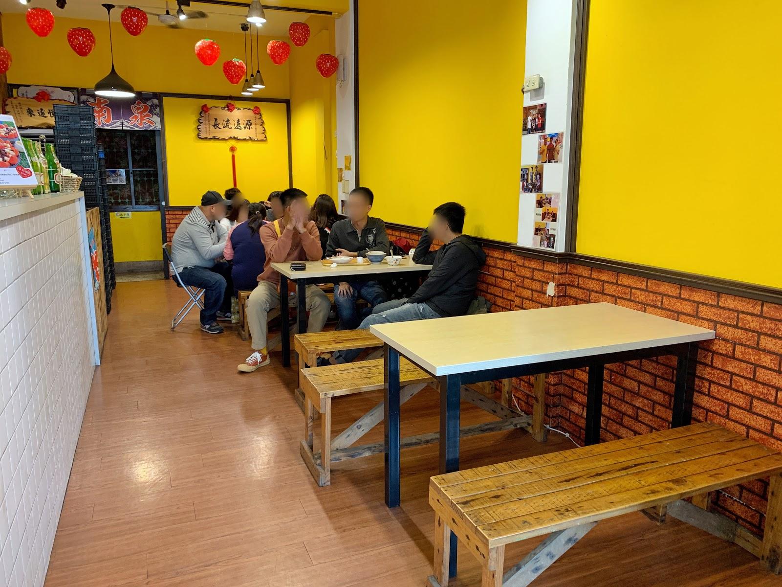 台南安平美食【南泉冰菓室】內用坐位1樓