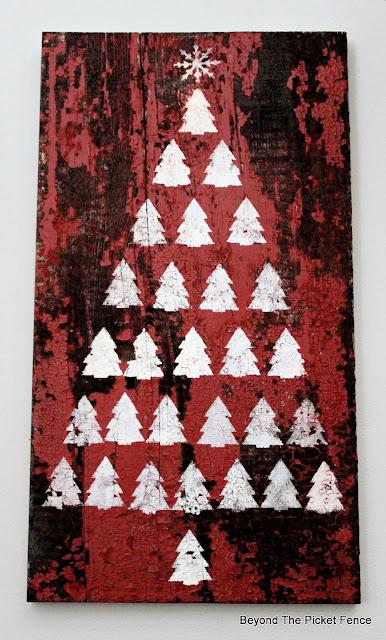 Stencil Easy Tree Art
