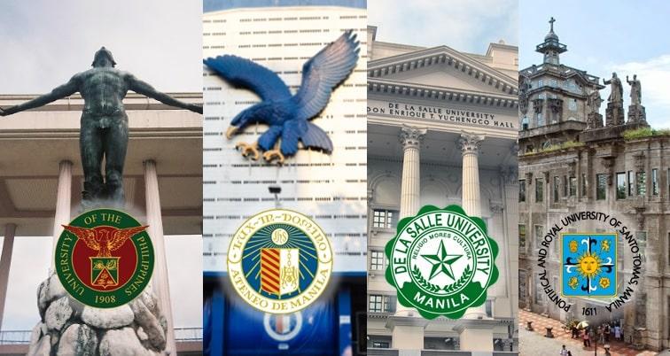 2021 Top 200 Most Popular Universities in the Philippines Online