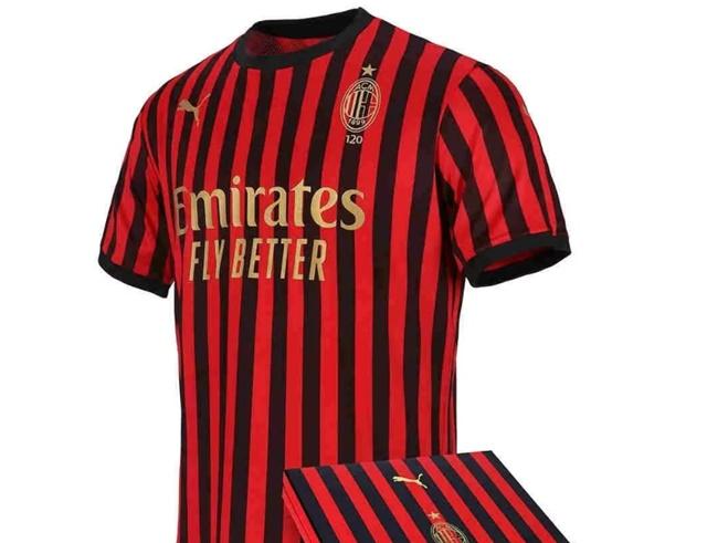 Jersey ULang Tahun AC Milan 120