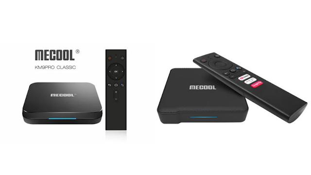 3 excelentes Boxs da Mecool com Android TV em promoção!