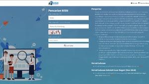 Ini Cara Terbaru Cek NISN Siswa Secara Online