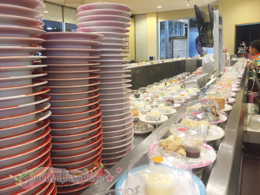 Makan Bonanza Sushi King November 2020