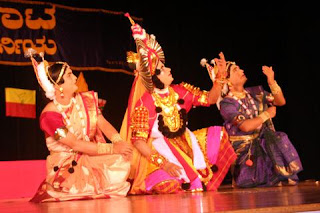 Yakshagana performance in progress
