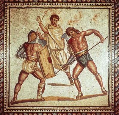 Selalu Ada Wasit di setiap Gladiator Fight