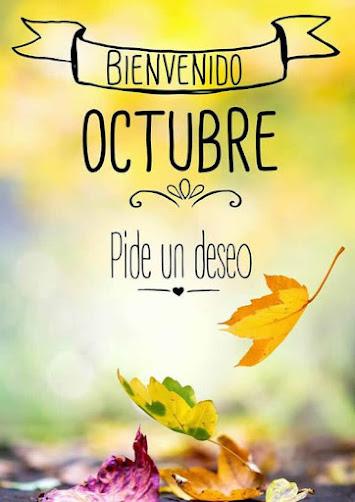 ♡♡❤️ Bienvenido Octubre ❤️♡♡