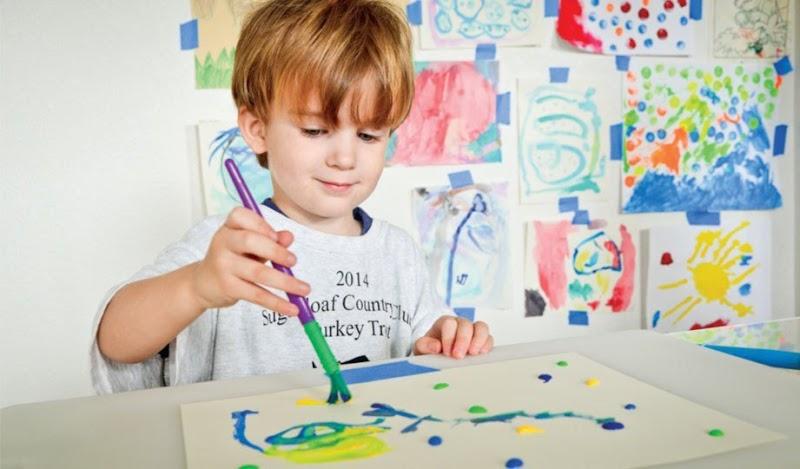 Melukis Merangsang Anak Lebih Pintar & Kreatif