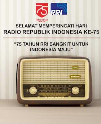 gambar ucapan hari radio republik indonesia 2020