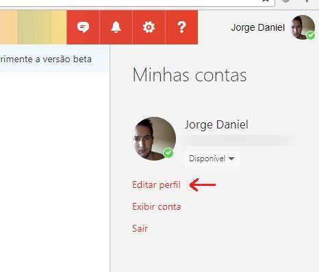 Como mudar o nome de usuário no Outlook.com