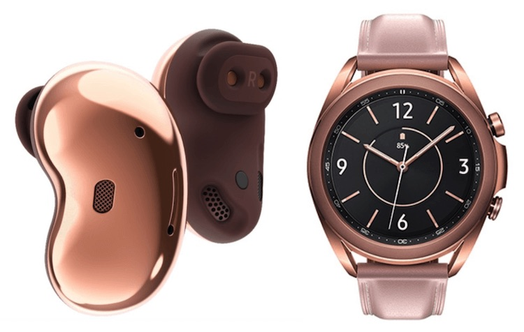 Samsung Launches Wireless Galaxy Buds Live And Galaxy Watch3