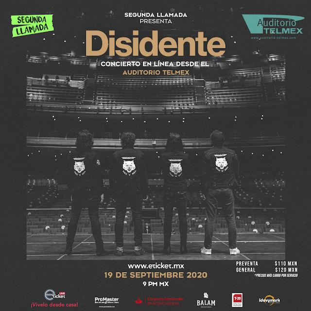 """La banda """"Desidente"""" presentará un show muy 'rocanrolero' vía streaming"""