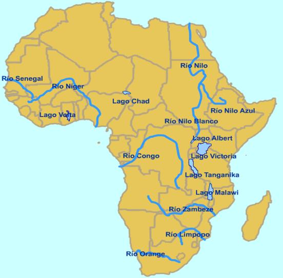 Rios da África