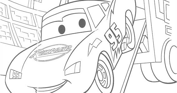 cars toons coloring pages - photo#9