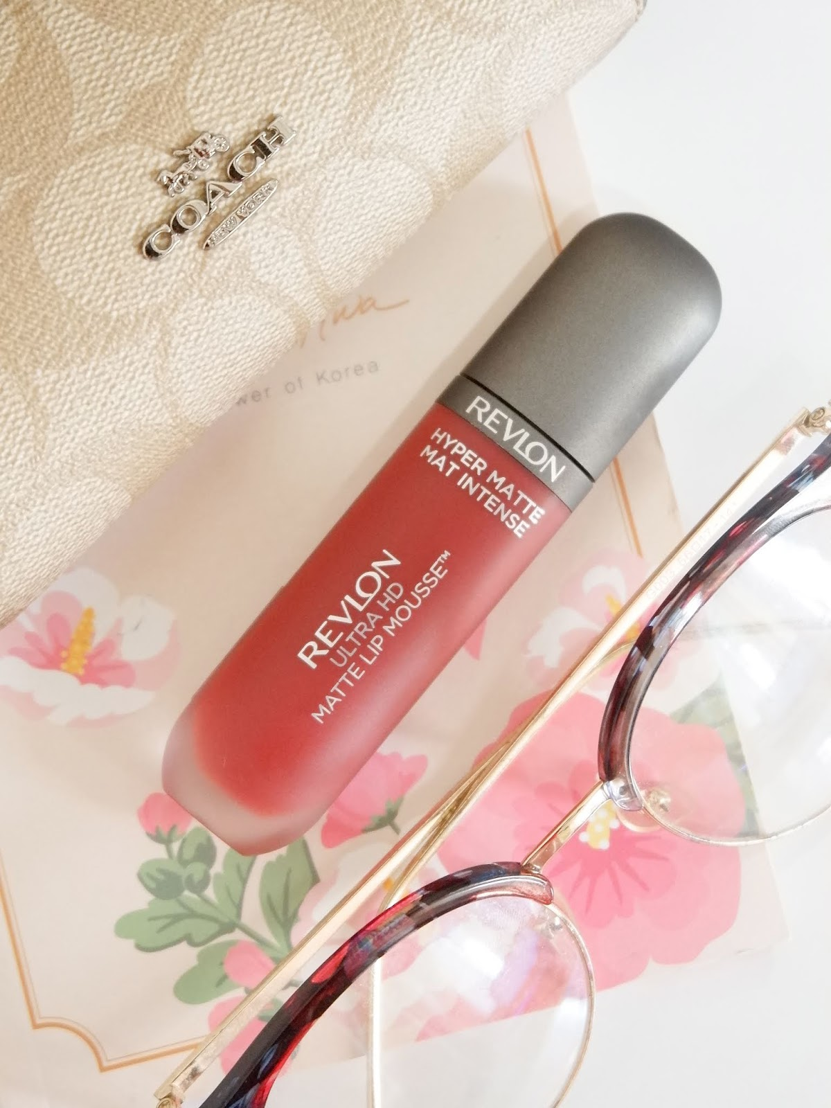REVLON ULTRA HD MATTE LIP MOUSSE HYPER MATTE REVIEW (SPICE)