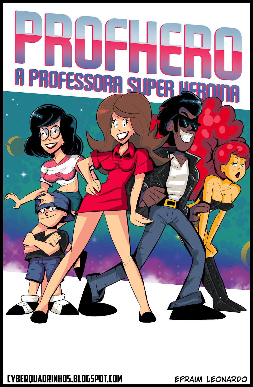 Quadrinhos da Professora