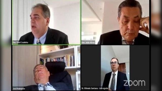 Procurador é flagrado dormindo durante sessão. Veja o vídeo!
