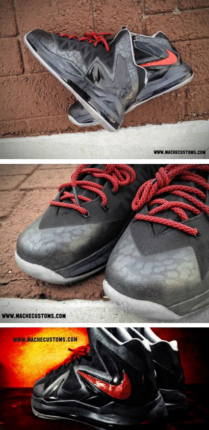 los angeles b72de c8d42 Here is some detailed images of the Nike LeBron X PS Elite