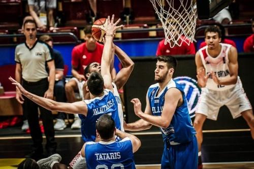 Εθνική Νέων Ανδρών: Μ. Βρετανία-Ελλάδα 77-64. Θα αγωνιστεί για τις θέσεις 13-16 στο Ευρωπαϊκό Πρωτάθλημα U20