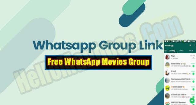 Latest New Movies WhatsApp Group Links 2021 | Free WhatsApp Movies Group Links