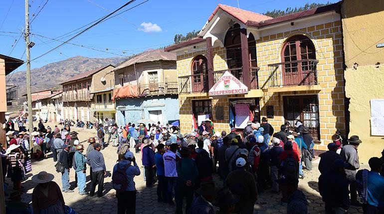 Alcaldía de Independencia en Cochabamba / RRSS