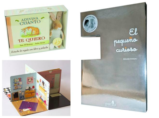 Libros infantiles: adivina cuánto te quiero, la casa desplegable, el pequeño curioso