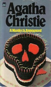 Book cover for A Murder Is Announced by Agatha Christie A Murder Is Announced in the South Manchester, Chorlton, Cheadle, Fallowfield, Burnage, Levenshulme, Heaton Moor, Heaton Mersey, Heaton Norris, Heaton Chapel, Northenden, and Didsbury book group