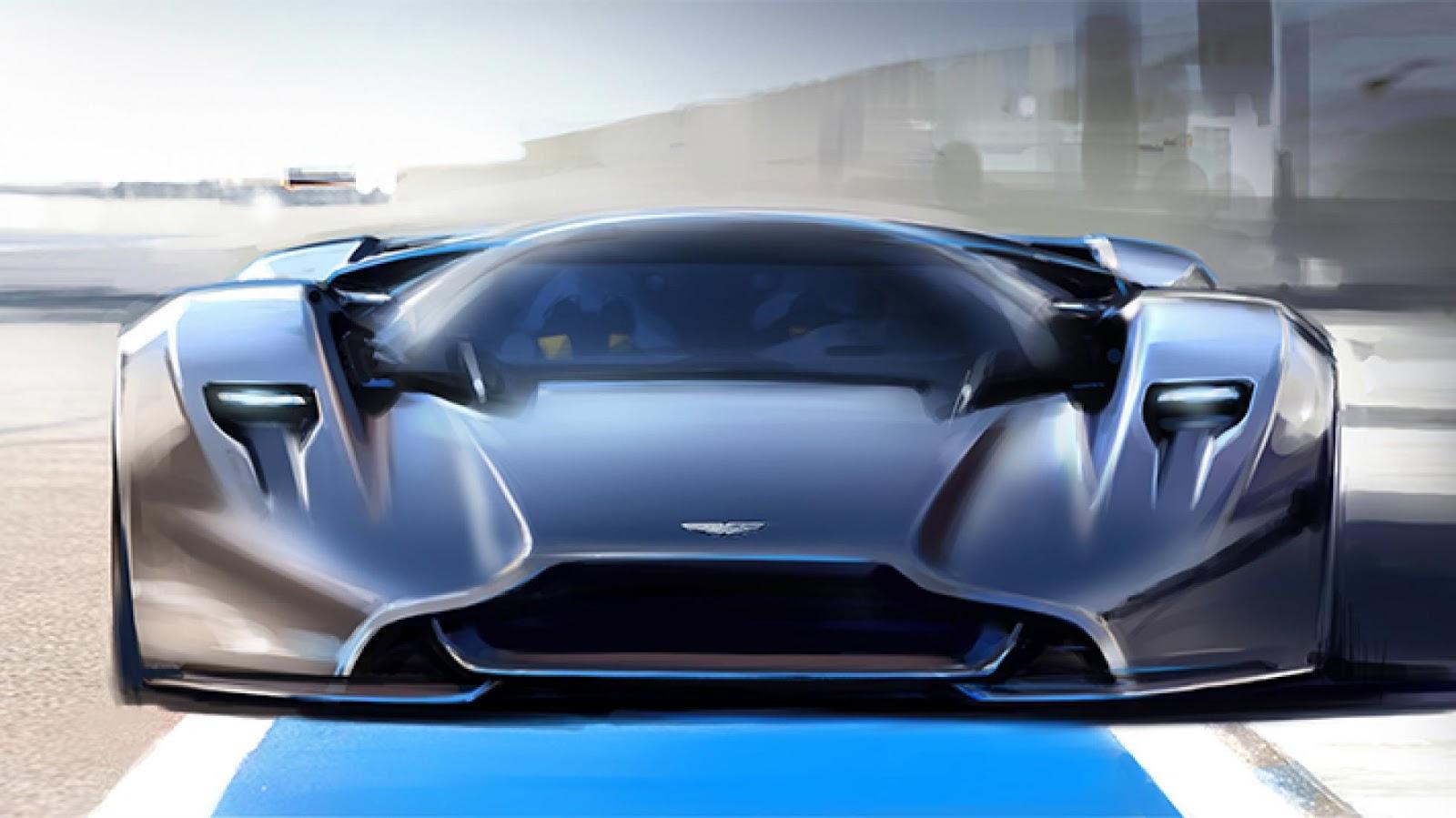 AM-RB 001 - Siêu phẩm của Aston Martin và Red Bull sẽ trông như vậy?