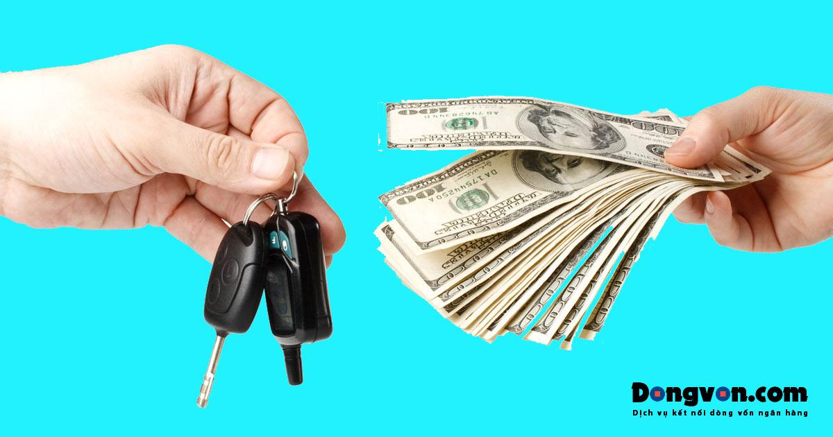 Vay tiền mua ô tô cũ trả góp