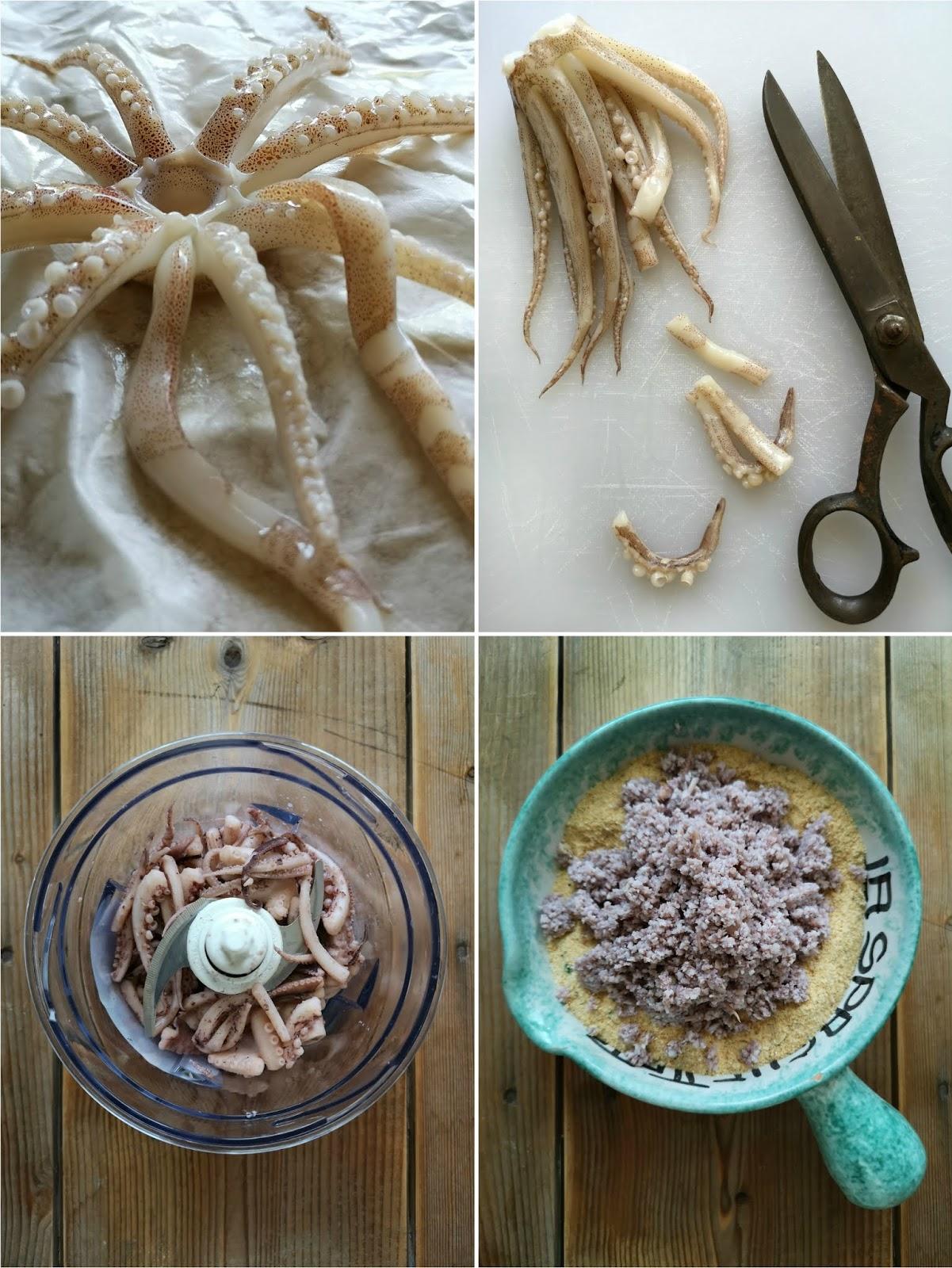 polpettine fritte di pesce
