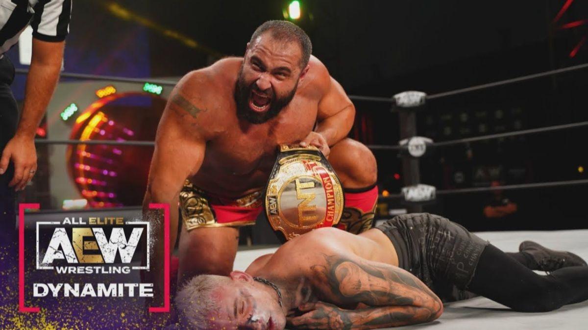 AEW TNT Championship manterá o mesmo nome com ida para a TBS