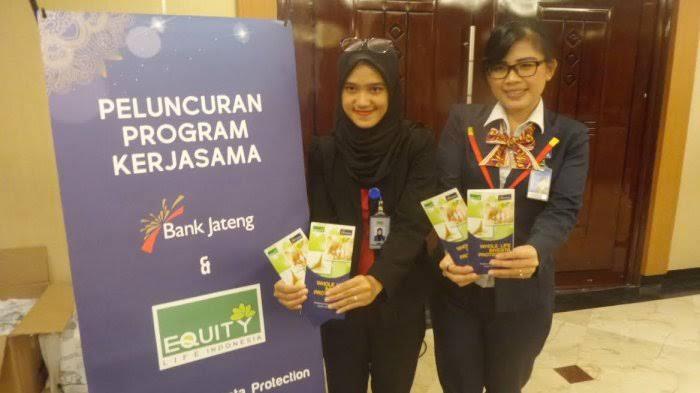 Lowongan Kerja Sebagai Bancassurance Relationship Officer di PT Equity Life Indonesia Penempatan di Seluruh Cabang Bank Jateng Wilayah Kudus, Pati, Jepara, Rembang & Blora