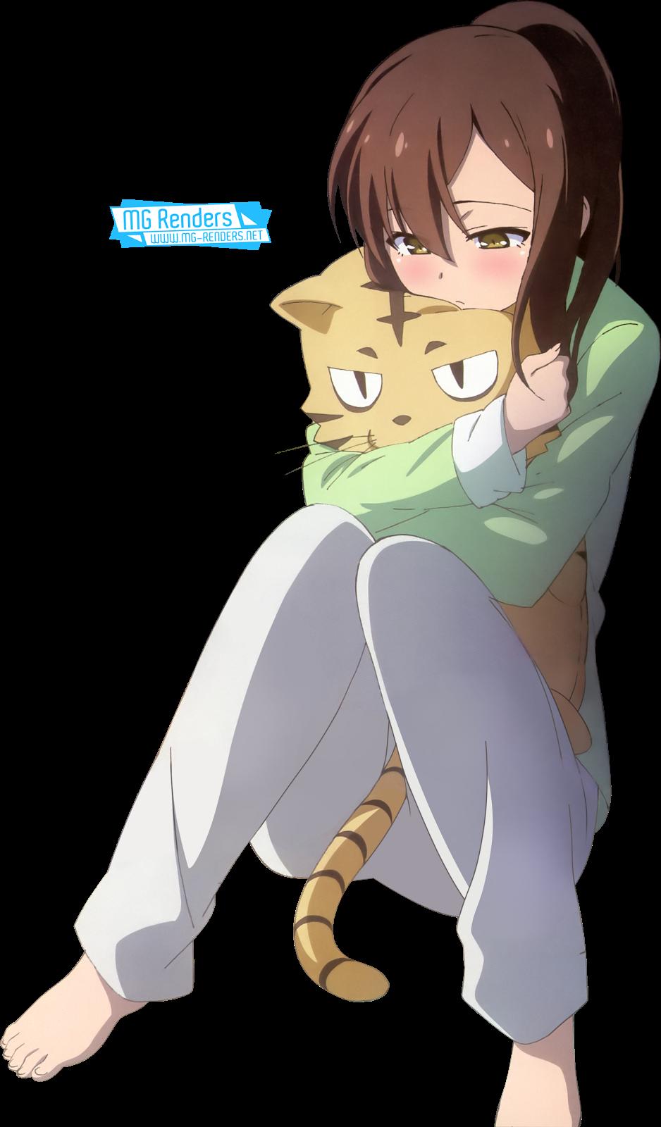 Tags: Anime, Render,  Aoyama Nanami,  Sakurasou no Pet na Kanojo, PNG, Image, Picture