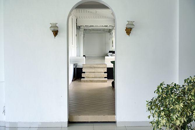 Salah satu pintu di Gedung Agung Yogyakarta