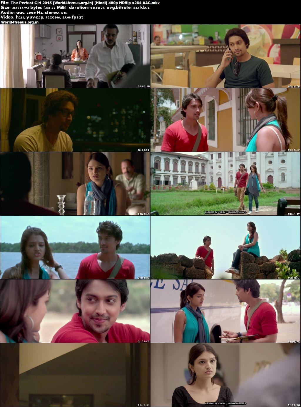 The Perfect Girl 2015 Full HDRip Hindi Download 300Mb Movie