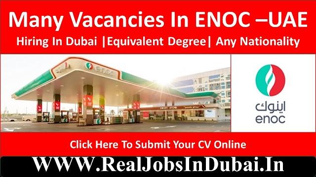 ENOC Careers In Dubai – UAE Emirates National Oil Company Jobs