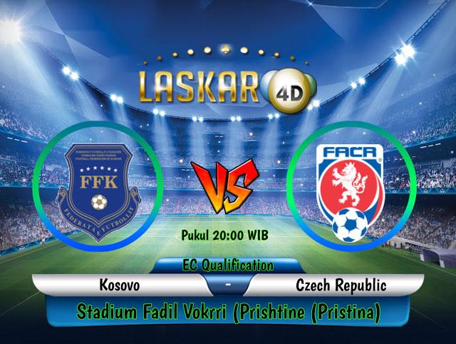 Prediksi Pertandingan  Kosovo vs Czech Republic 07 September 2019