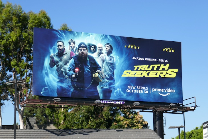 Truth Seekers series launch billboard