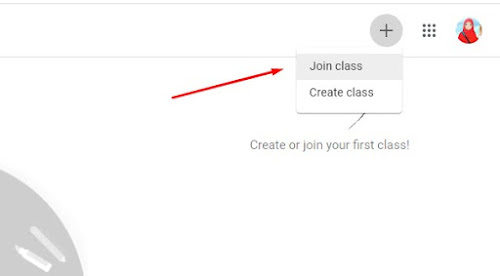 cara join google class room