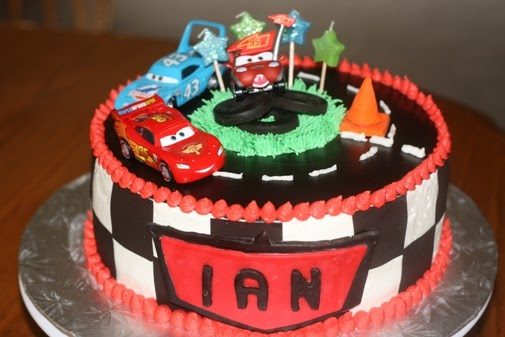 Sweet Nibbles Cars Cakes