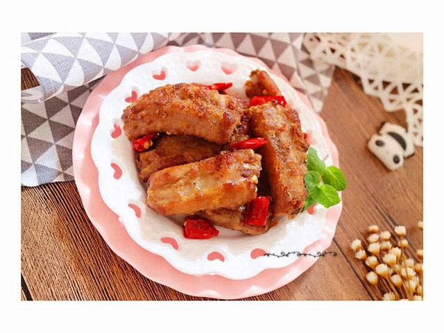 Cách chế biến món sườn lợn rán cay thơm ngon hao cơm