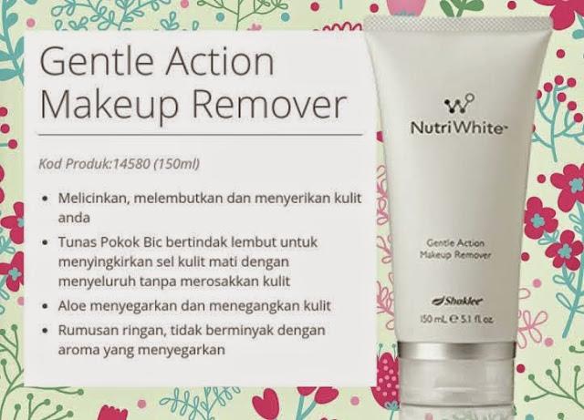 Kelebihan Makeup Remover Shaklee